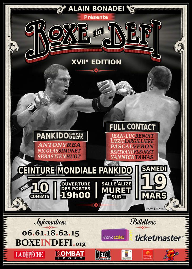 BOXE IN DEFI XVII    informations...