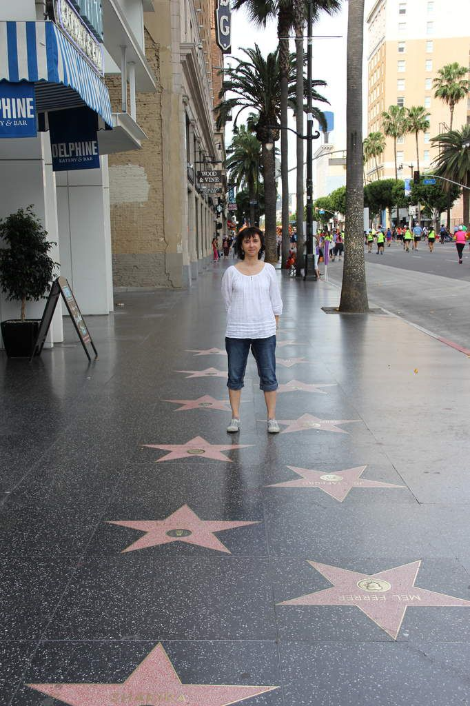 Mon walk of fame...
