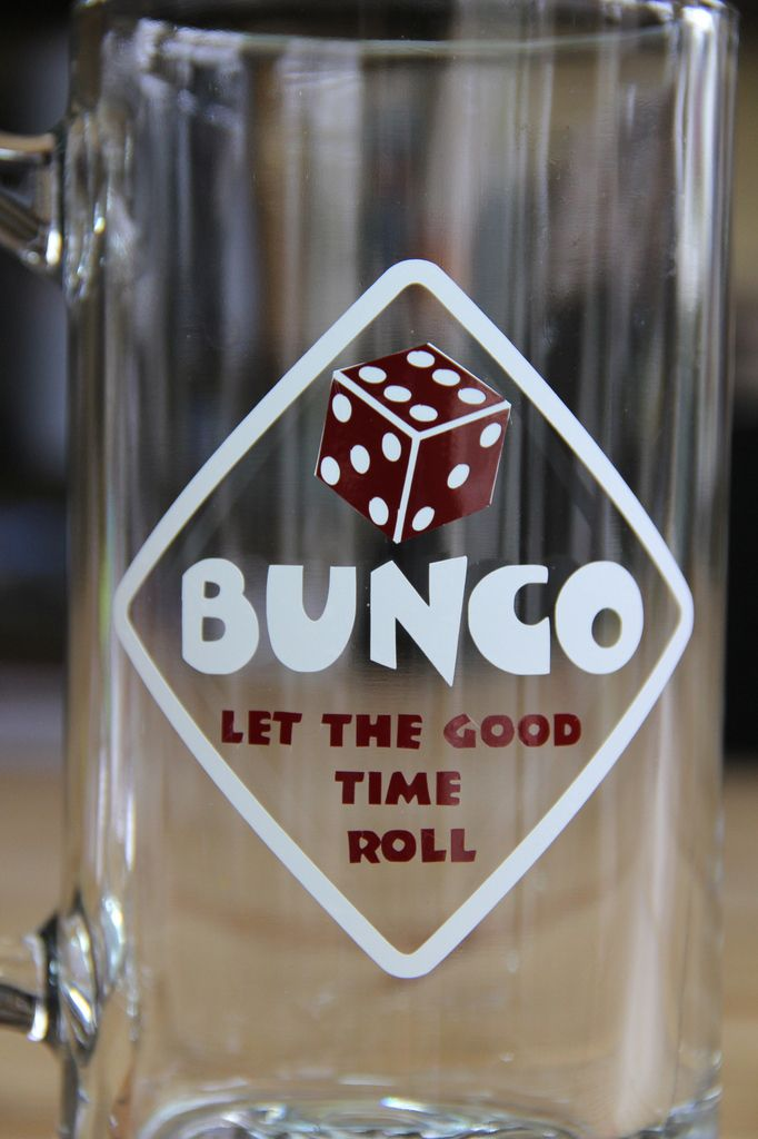 Bunco, let the good time roll.