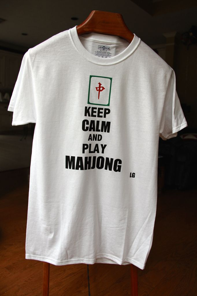 Keep calm and play Mahjong