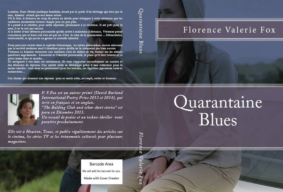 livre Quarantaine Blues