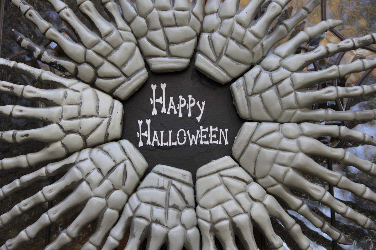 Des décorations esprit Halloween