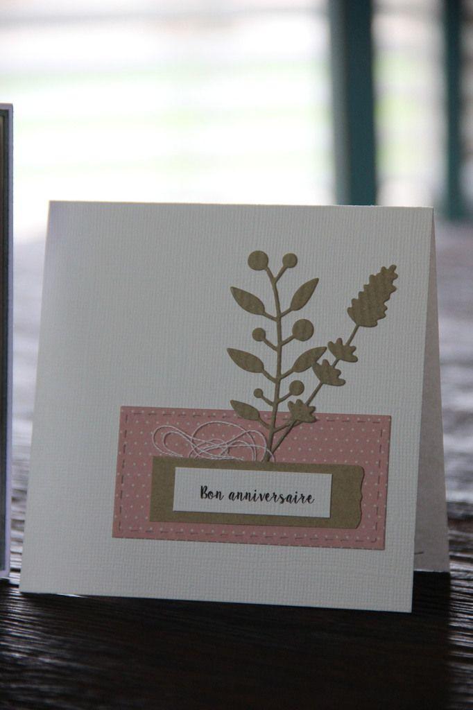 Des cartes faites et des reçues...