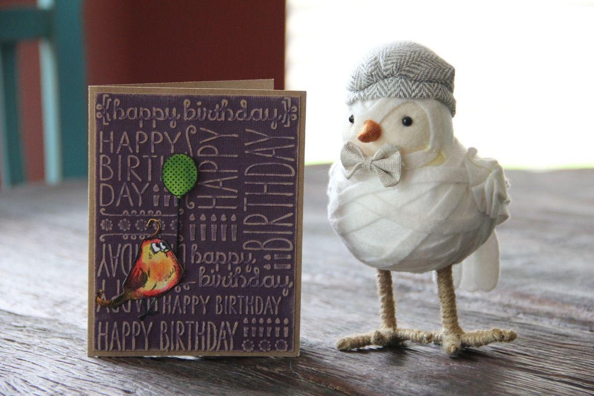 "Cartes avec des ""Crazy Birds"" ..."