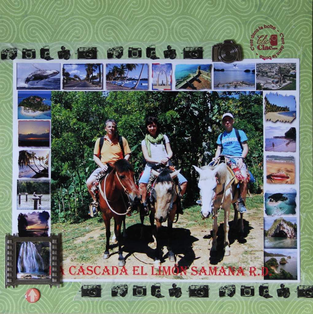 Back to Texas ... and scrapbooking...