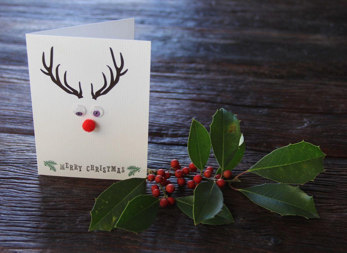 Des petites décos et cartes de Noël.