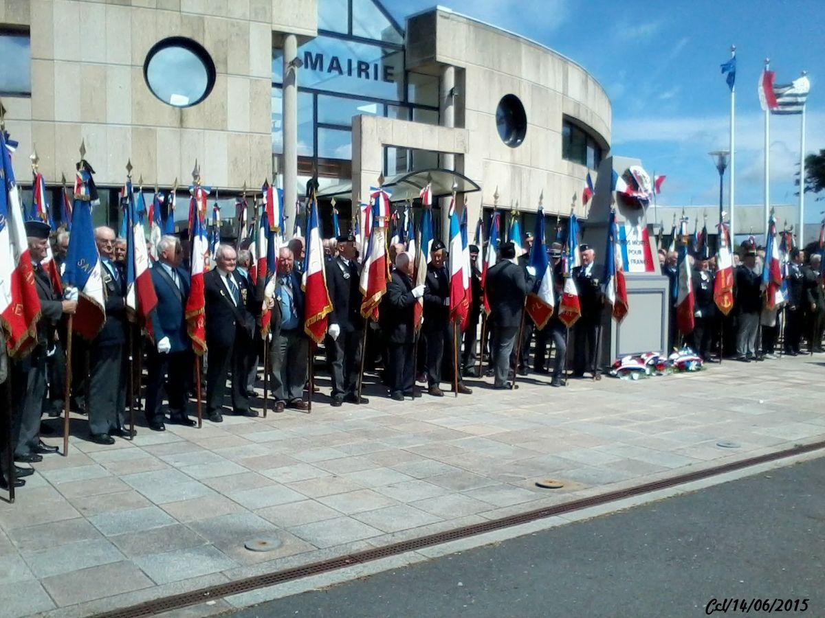 14.06.2015 PLOUARZEL : congrès départemental de l'UNC du Finistère