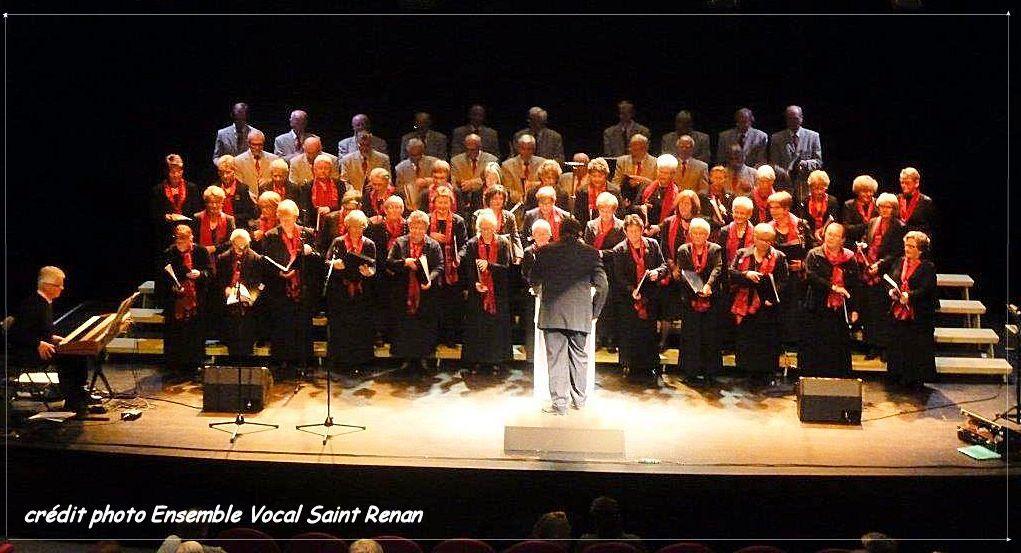ALBUM PHOTOS DE L'ENSEMBLE VOCAL DE SAINT RENAN qui a bien voulu les partager.