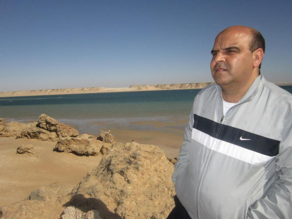 الإعلامي محمد السعودي.