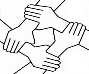 Chaîne de solidarité à Dampierre