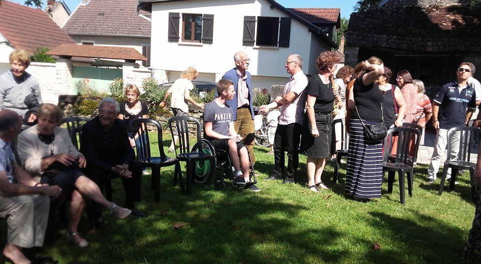 Commémoration en photos du 6 août à Dampierre