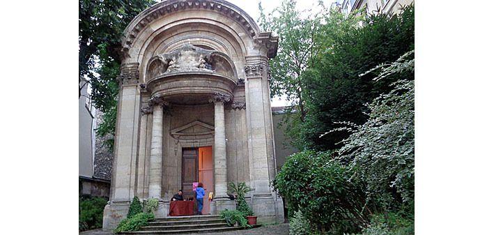 L'église Saint Ephrem, rue des Carmes