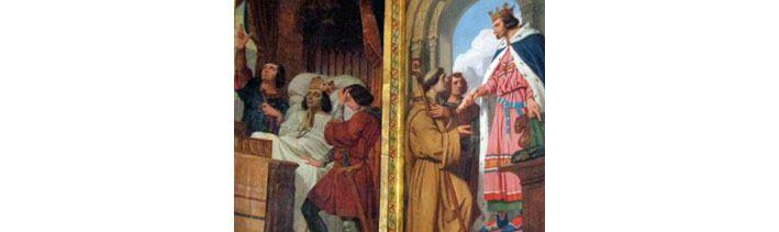 Saint Louis, tableaux de l'église Saint-Louis en l'Ile