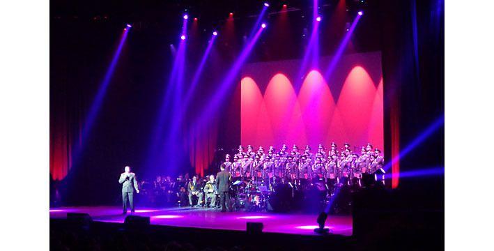 Les Choeurs de l'armée rouge en concert à Paris