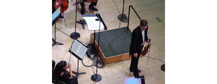 Le violoniste James Ehnes et son Stradivarius de 1715