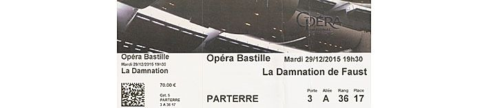 Billet d'opéra de seconde main (merci Marie H!)