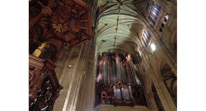 Saint-Eustache, le grand orgue