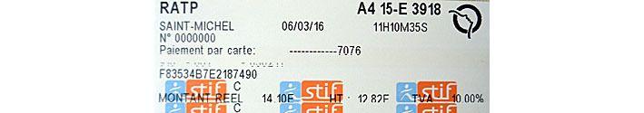 Achat de tickets de bus et métro dans la station Saint-Michel ND