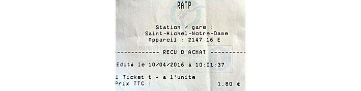 Arrivée à St Michel Notre-Dame à 10h01