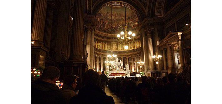 Eglise de la Madeleine avant le concert