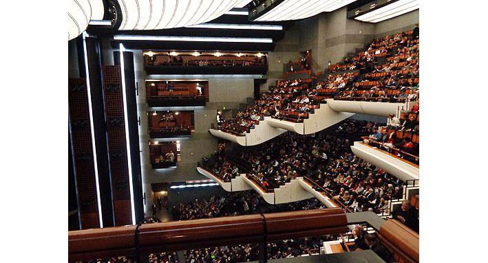 La salle de l'opéra Bastille vue de la galerie 5