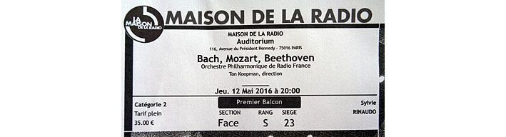 Bach, Mozart, Beethoven