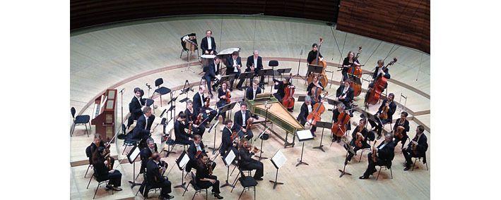 La formation orchestrale pour la suite de Bach