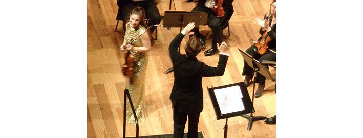 La violoniste Alexandra Soumm