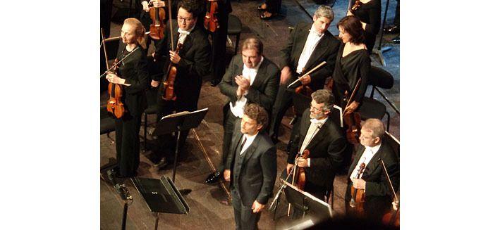 Jonas Kaufmann avec Daniele Gatti, et les violons
