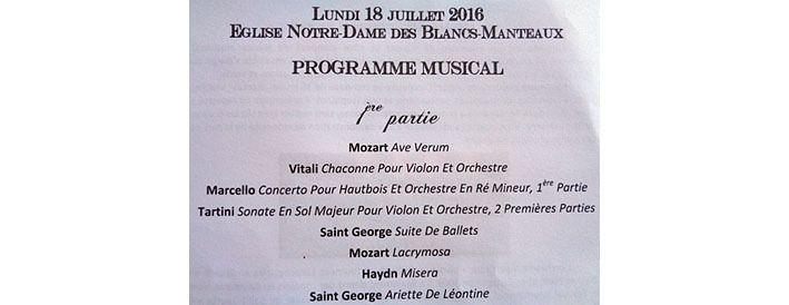 La première partie du concert de l'orchestre Altissimo