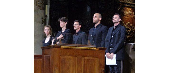 Hélène Picard, Clotilde Cantau, Damien Rivière, Yves Castagnet