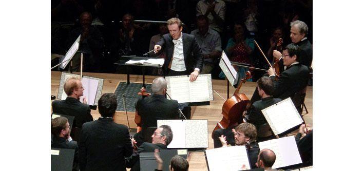 Daniel Harding à la tête de l'Orchestre de Paris