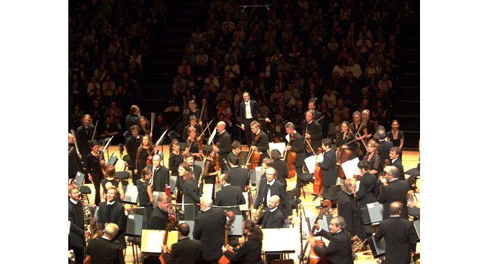 L'Orchestre de Paris et Daniel Harding dans la symphonie de Brahms