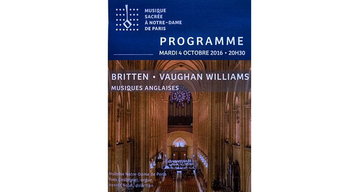 Britten, Vaughan Williams