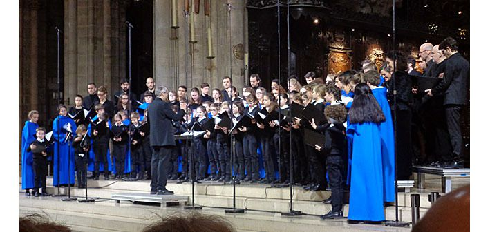 Concert de Noël à Notre-Dame