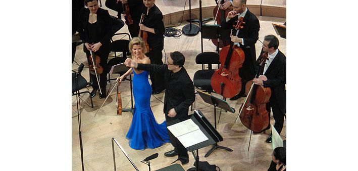 Anne-Sophie Mutter et Ken-David Masur