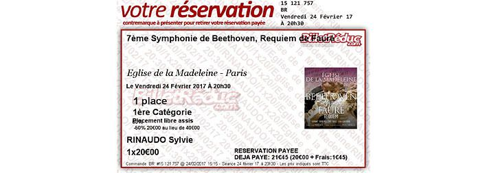 Beethoven, Fauré
