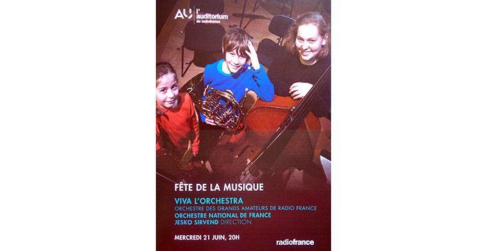 Fête de la musique: Viva l'orchestra!