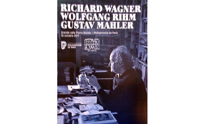 Wagner, Rihm, Mahler