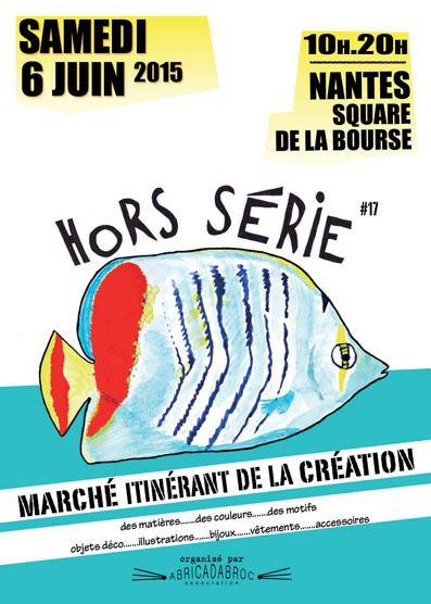 Hors Série #17- samedi 6 juin 2015 // Nantes, Square de la Bourse