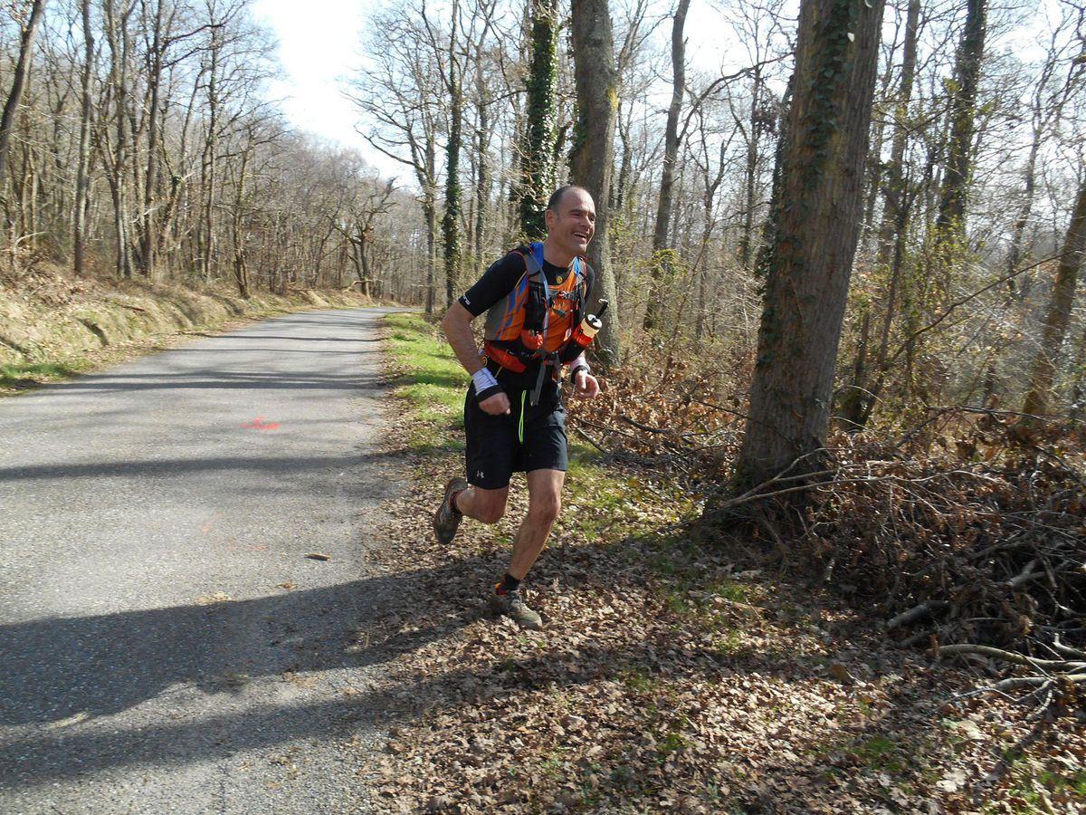 le 8 Mars Cabilat trail à Bordères (65)