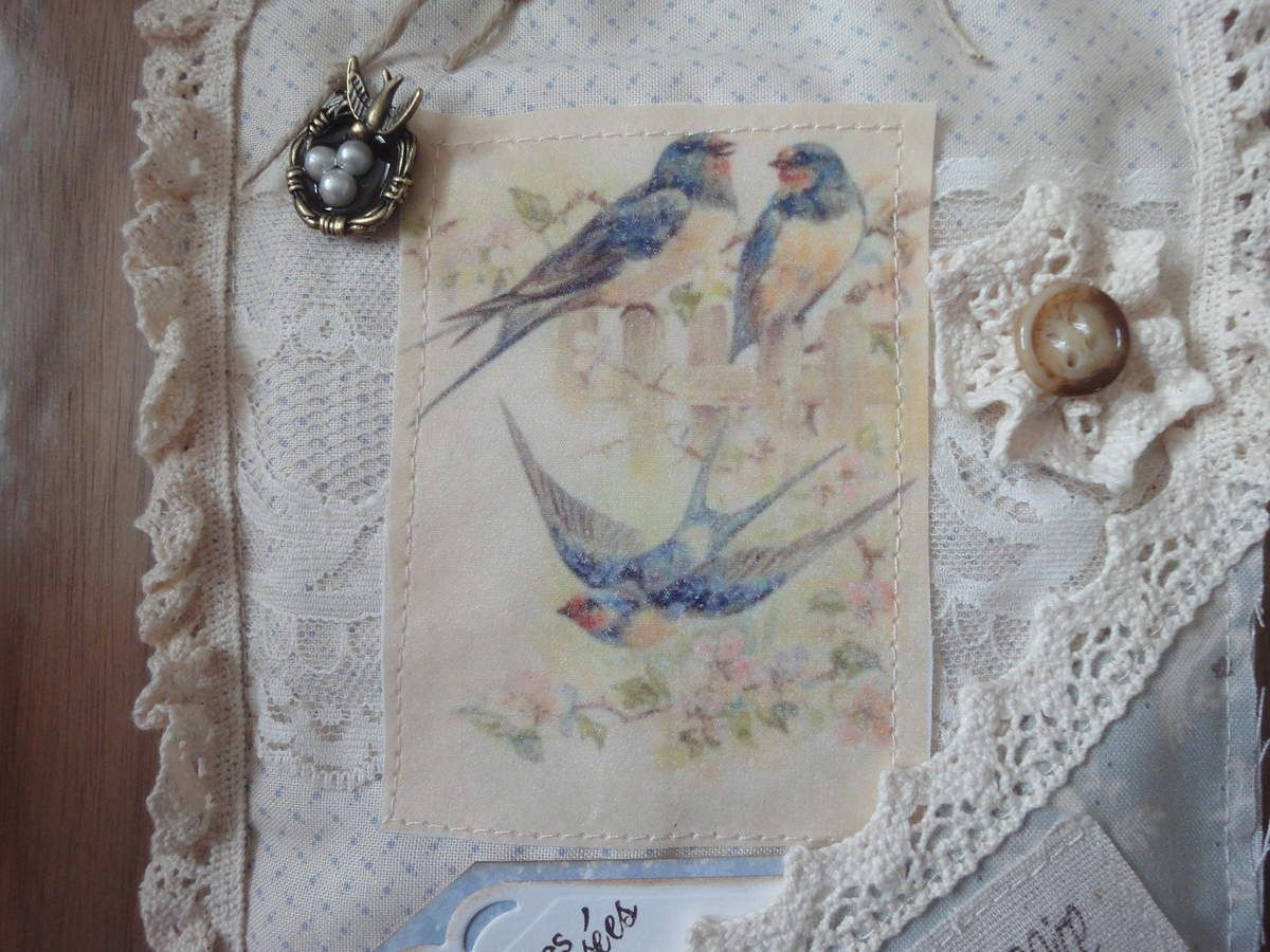 Carte couture Passion Shabby
