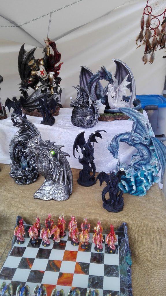 des jolis dragons au Buron aux Sorcières