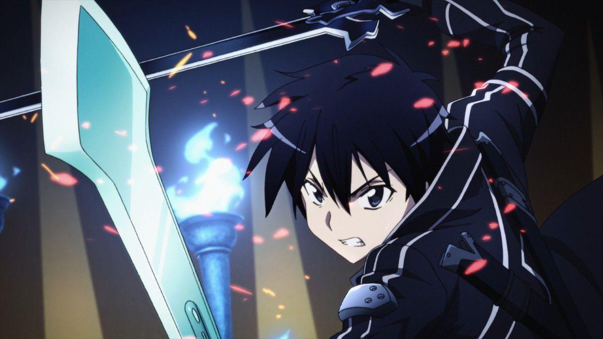 Kirito dans l'anime