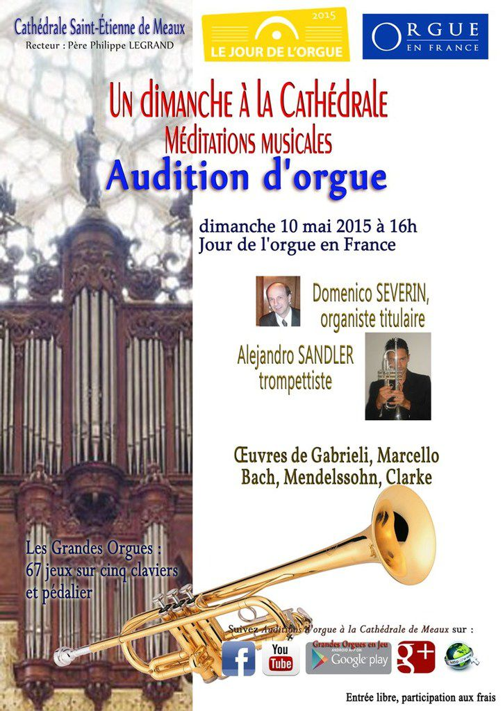Audition d'orgue à la cathédrale de Meaux