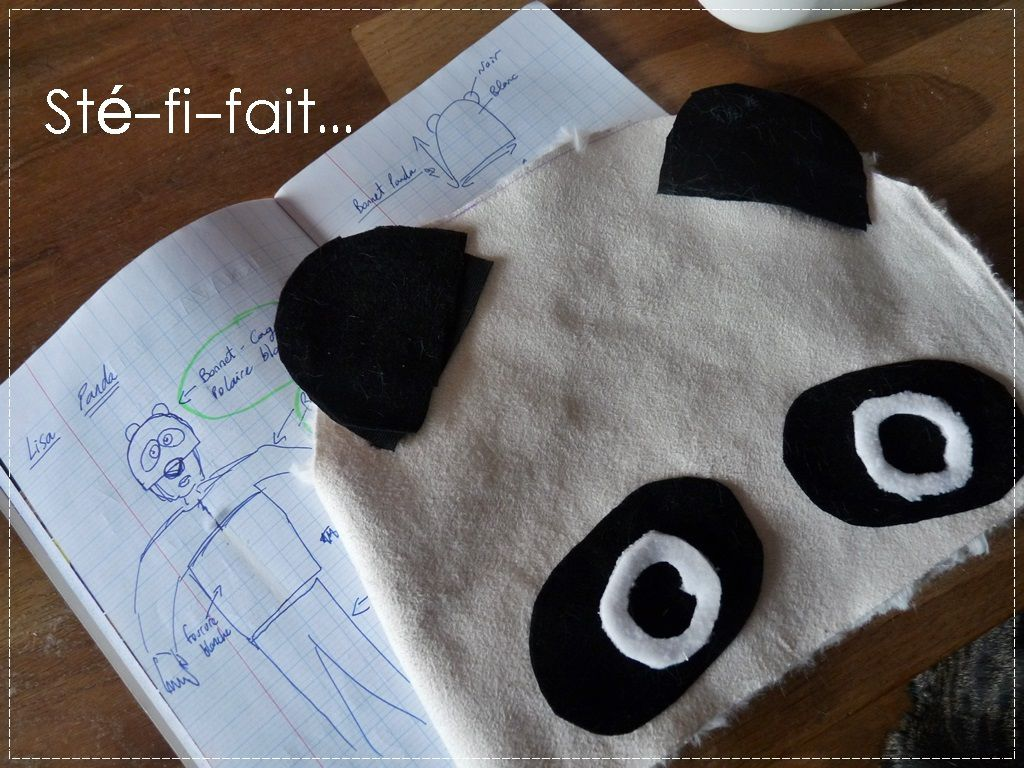 Pandi-Lisa, petit ourson de chine...