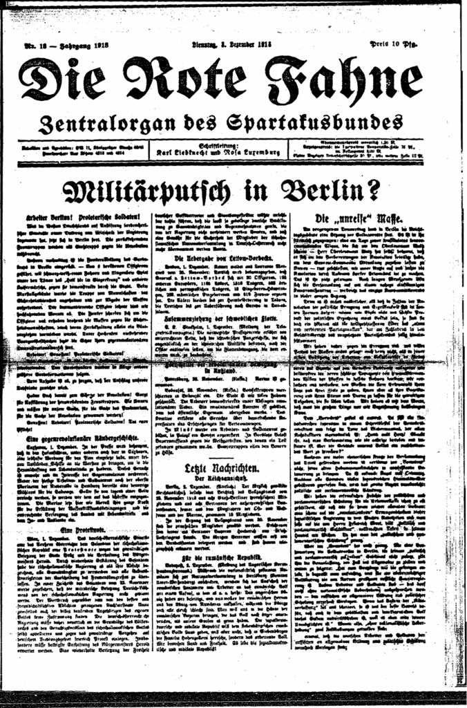 Pauvre Liebknecht ! Pauvre Rosa Luxemburg ! Pierre Brizon, Janvier 1919