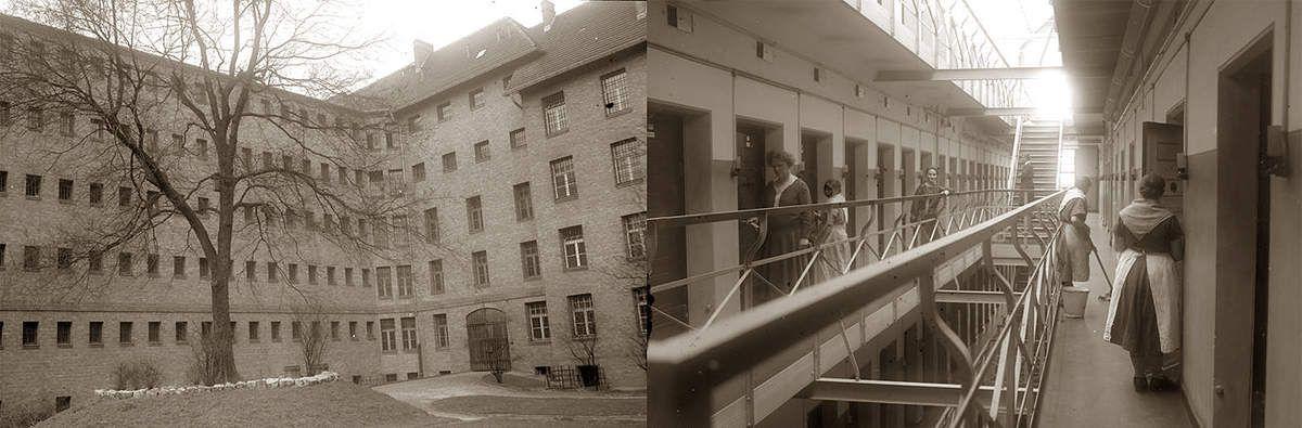 La prison de Barnimstr. qu'elle vient de quitter.