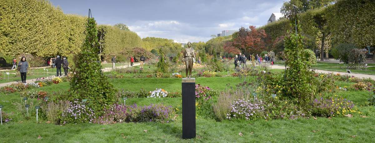 Rosa Luxemburg - Une sculpture de Nicolas Milhé. &quot&#x3B;C'était une grande penseuse, un personnage magnifique, révolutionnaire et pacifiste&quot&#x3B; ...