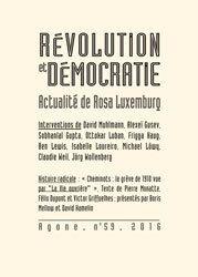 Actualité de Rosa Luxemburg - Agone n° 59